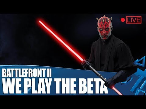 Star Wars Battlefront II - We Play The BETA